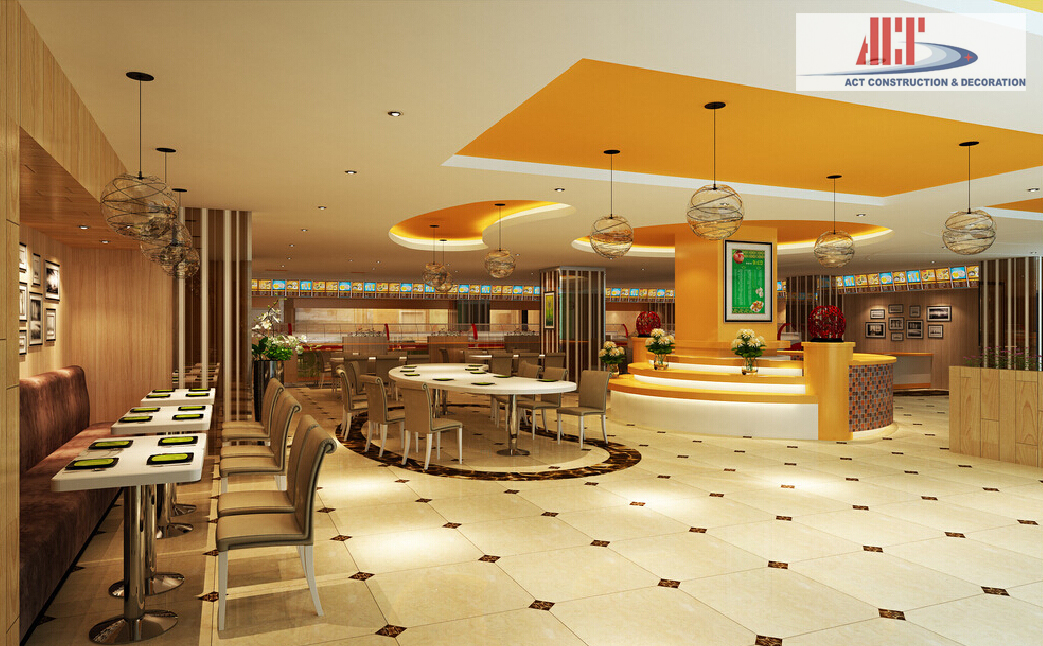 3D-interior-design-fast-food-restaurant
